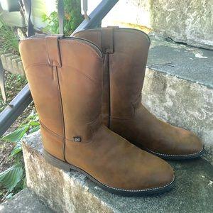 Justin Boots men's cowboy boots Sz 13 EE
